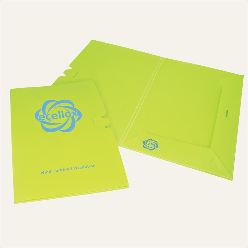 enviro-smart™ – presentation folder A4 – polyprop pop