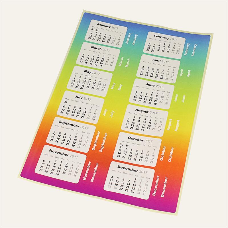 calendar tabs
