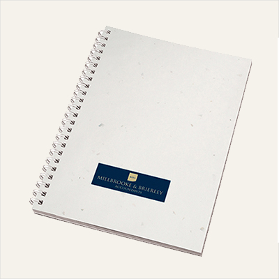 enviro-Smart White Card Cover